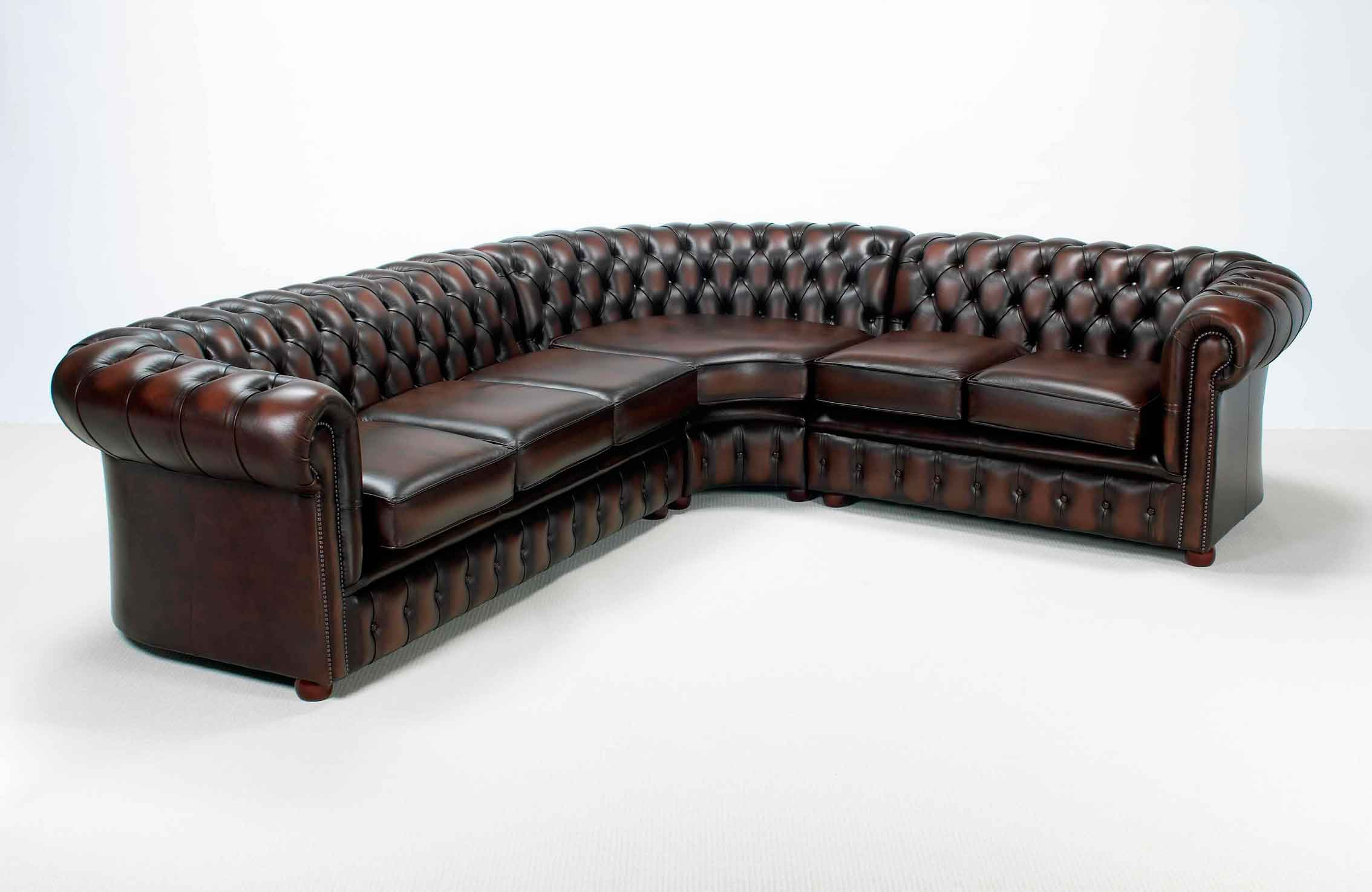 chesterfield ecksofa eckcouch designer sofa couch vintage. Black Bedroom Furniture Sets. Home Design Ideas