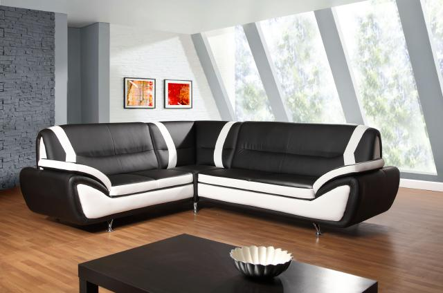 big sofa leder schwarz carprola for. Black Bedroom Furniture Sets. Home Design Ideas