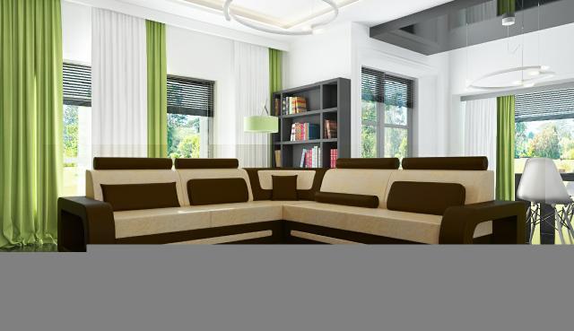 eck leder garnitur textil stoff couch sofa wohnlandschaft. Black Bedroom Furniture Sets. Home Design Ideas