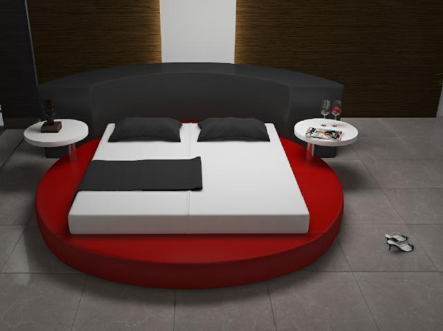 rund bett angebote auf waterige. Black Bedroom Furniture Sets. Home Design Ideas