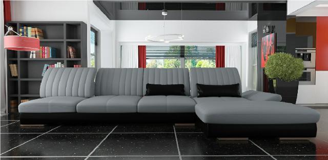 multifunktions xxl big sofa eckcouch ecksofa ledersofa. Black Bedroom Furniture Sets. Home Design Ideas