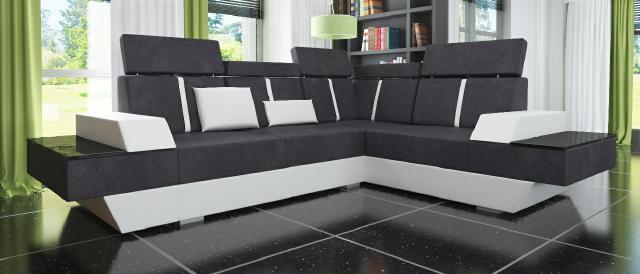 sofas und ledersofas le mans ii bettfunktion designersofa. Black Bedroom Furniture Sets. Home Design Ideas