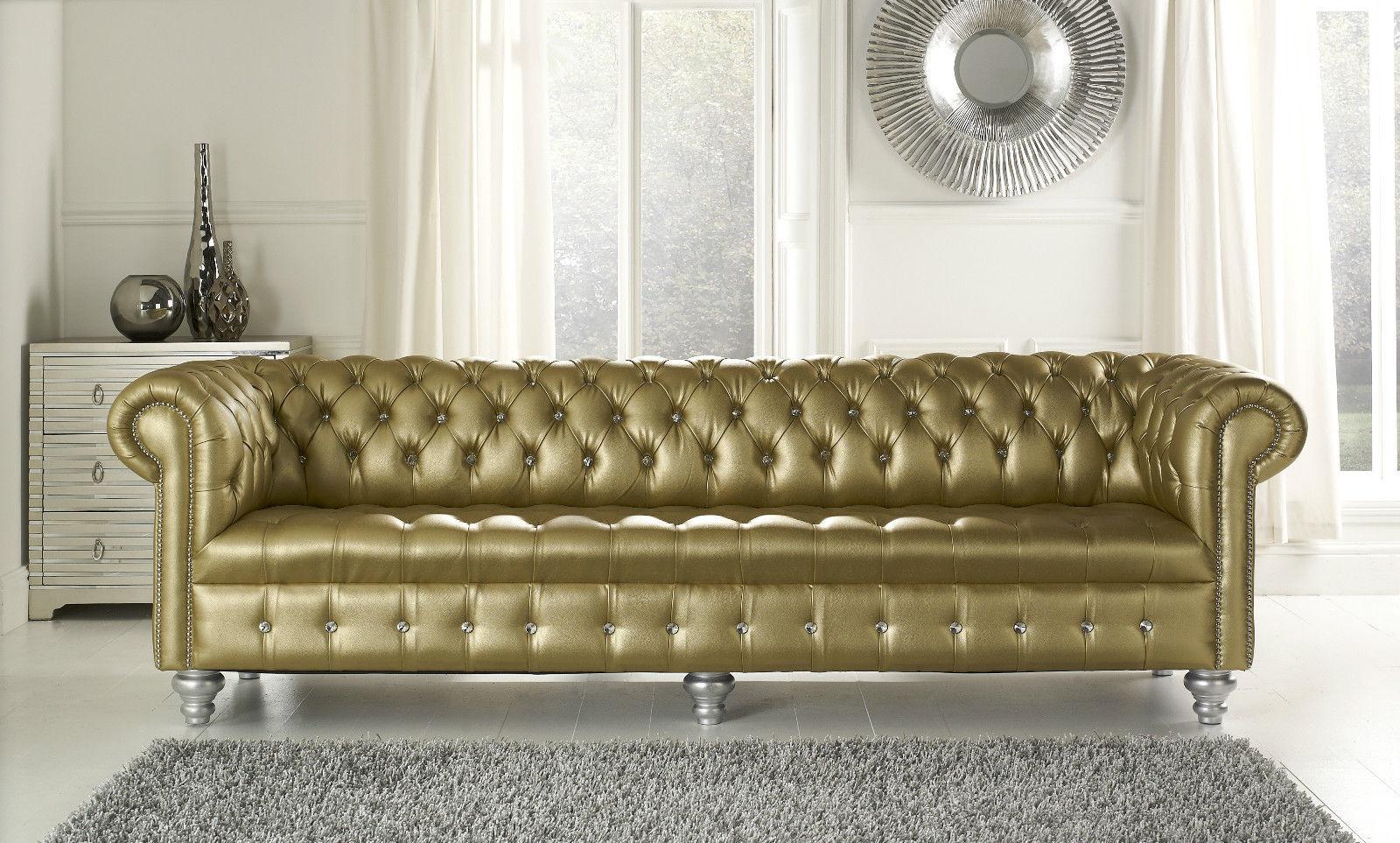 Luxus ledercouch  Chesterfield Sofas und Ledersofas Constance Designersofa bei JV Möbel