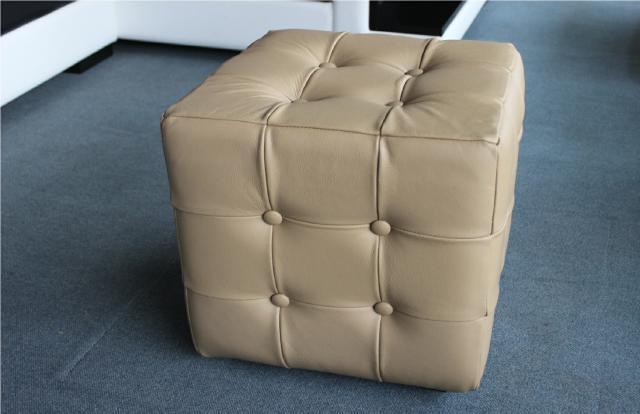 chesterfield hocker 100 echtes leder bank sitz. Black Bedroom Furniture Sets. Home Design Ideas