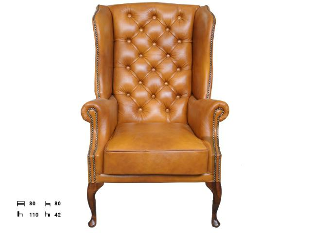 Chesterfield sessel ohrensessel ledersofas 201502 for Ohrensessel 100