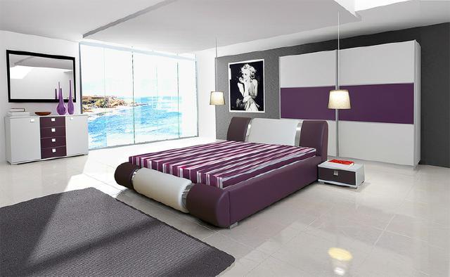schlafzimmer modern lila weiß ~ Übersicht traum schlafzimmer - Schlafzimmer Lila Weis