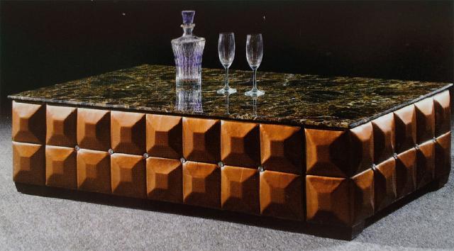 couchtisch marmor platte tisch couchtische design leder echte kristallsteine neu ebay. Black Bedroom Furniture Sets. Home Design Ideas