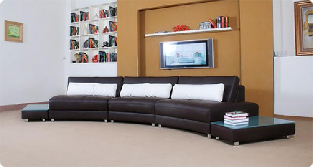 ledersofa bigsofa rundsofa rundes sofa sofagarnitur ebay. Black Bedroom Furniture Sets. Home Design Ideas