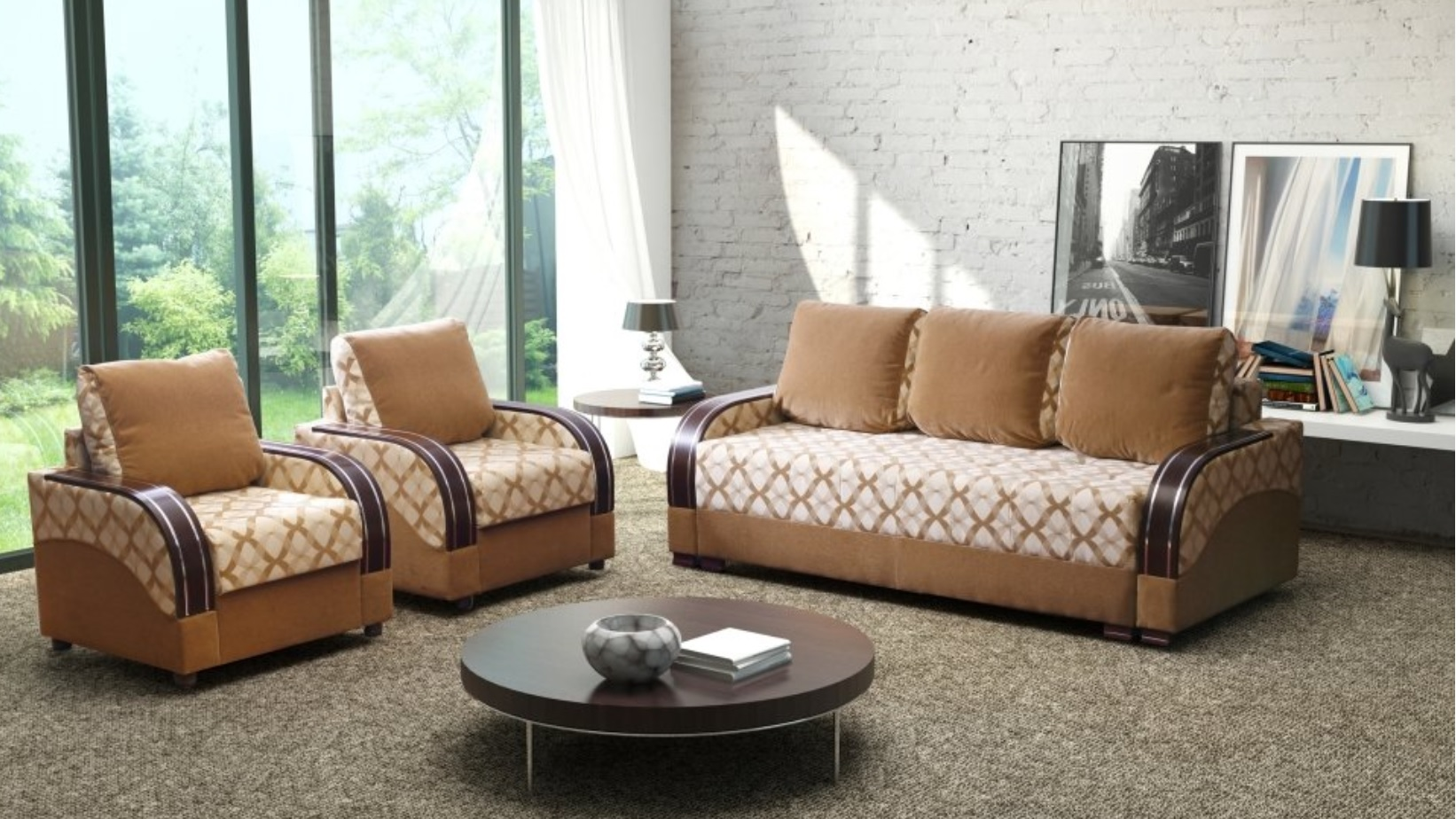couch ecksofa wohnlandschaft schlafsofa federkern stoffsofa textil gro es sofa ebay. Black Bedroom Furniture Sets. Home Design Ideas