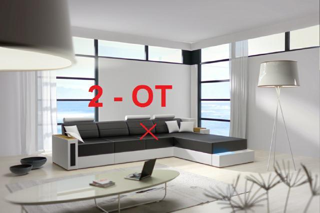 Ecksofa design  Sofas und Ledersofas SGS01 Bettfunktion Designersofa Ecksofa bei ...