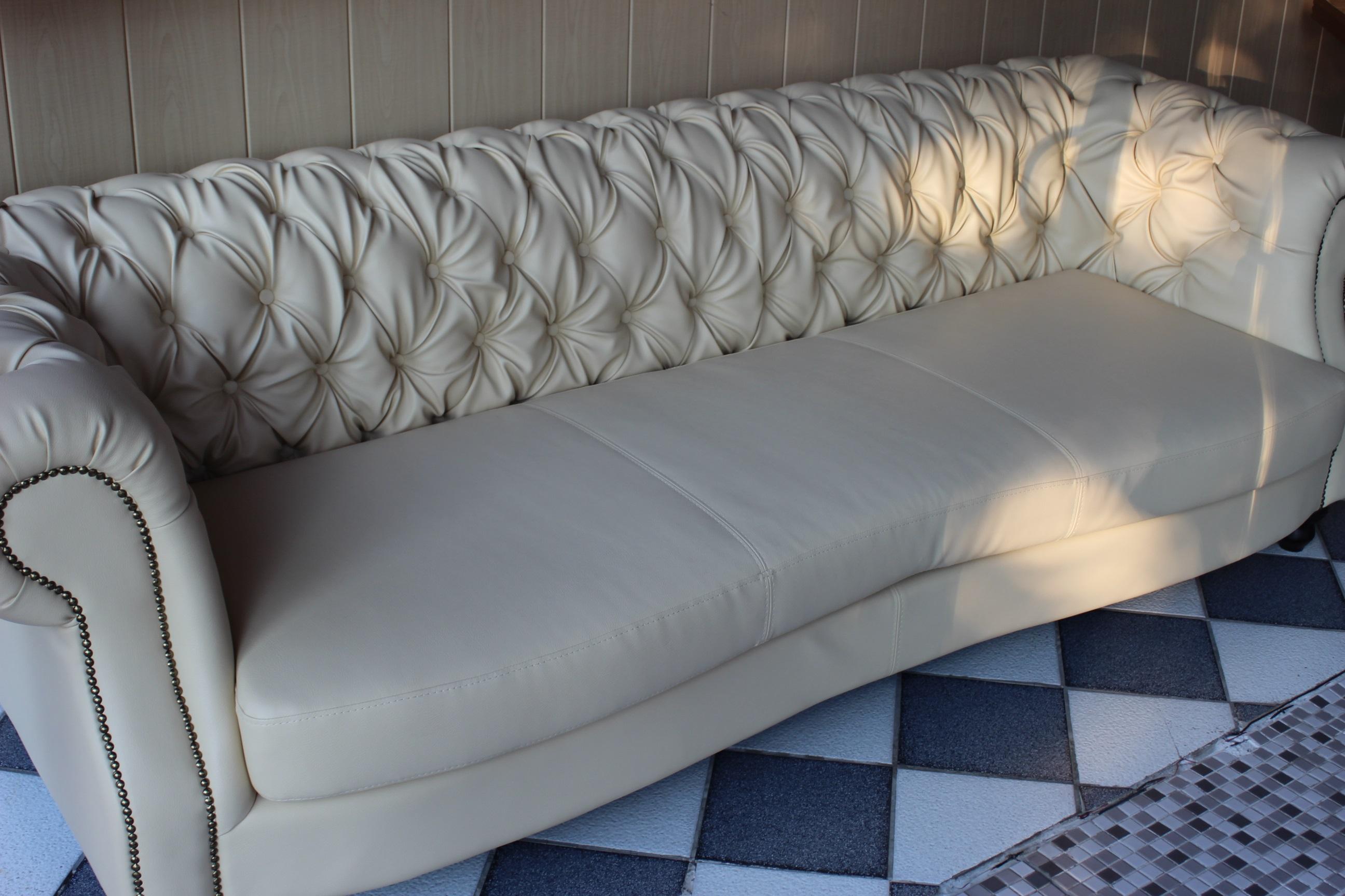 Charly chesterfield sofa couch wohnlandschaft 250cm xxl for Wohnlandschaft xxl sofort lieferbar