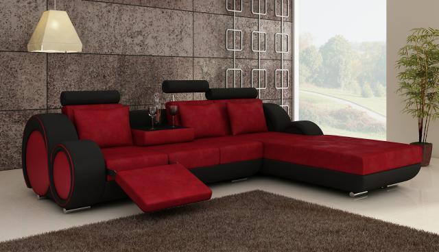 wohnzimmer rot weiß grau:Wohnzimmer Schwarz Grau Rot : Wohnzimmer in ...