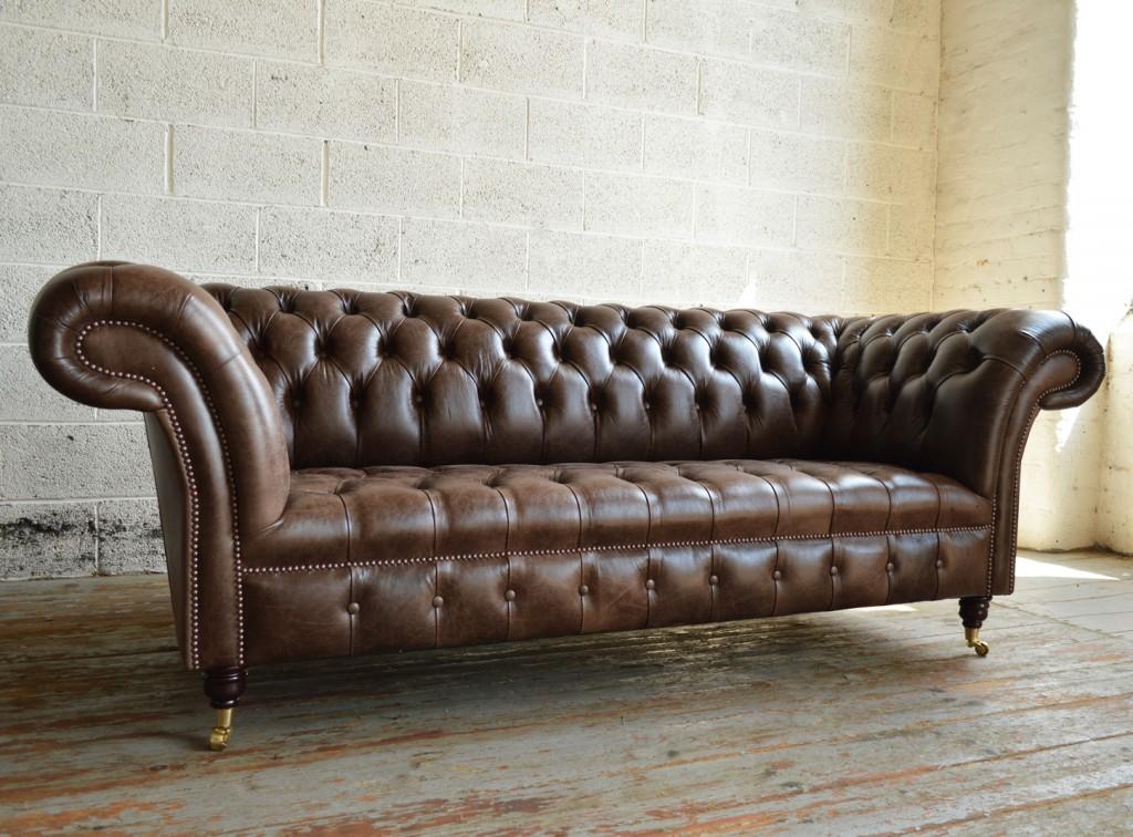 Details Zu Chesterfield Couch Polster Sofas Klassischer Sitz Leder Textil 3 Sitzer 297