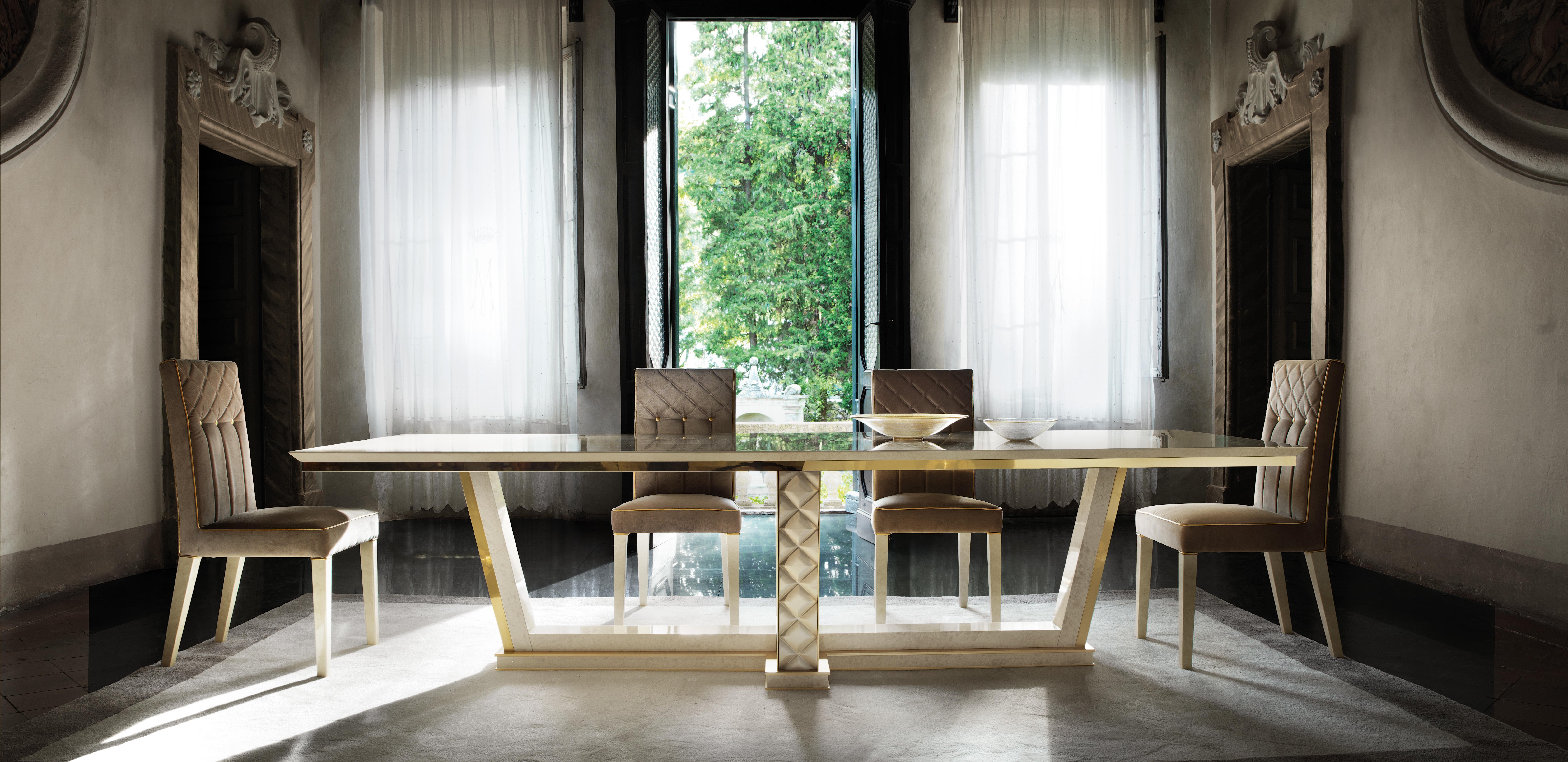 Mesa de Comedor 4 Sillas Rococó Barroco Estilo Art Nouveau Real Lujo Mueble  | eBay