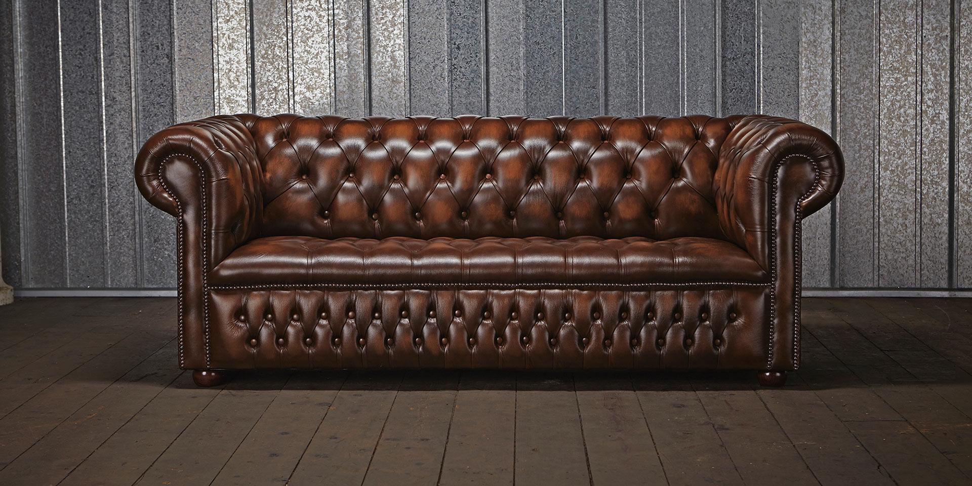 Chesterfield Polster Sofa Couch Designer Garnitur 3 Sitz Couchen ...