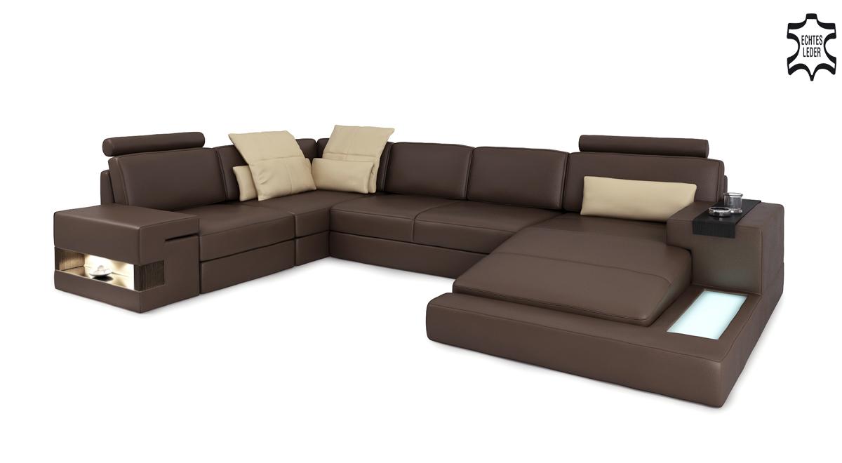 u form sofa wohnlandschaft u form ecksofa couch garnitur. Black Bedroom Furniture Sets. Home Design Ideas