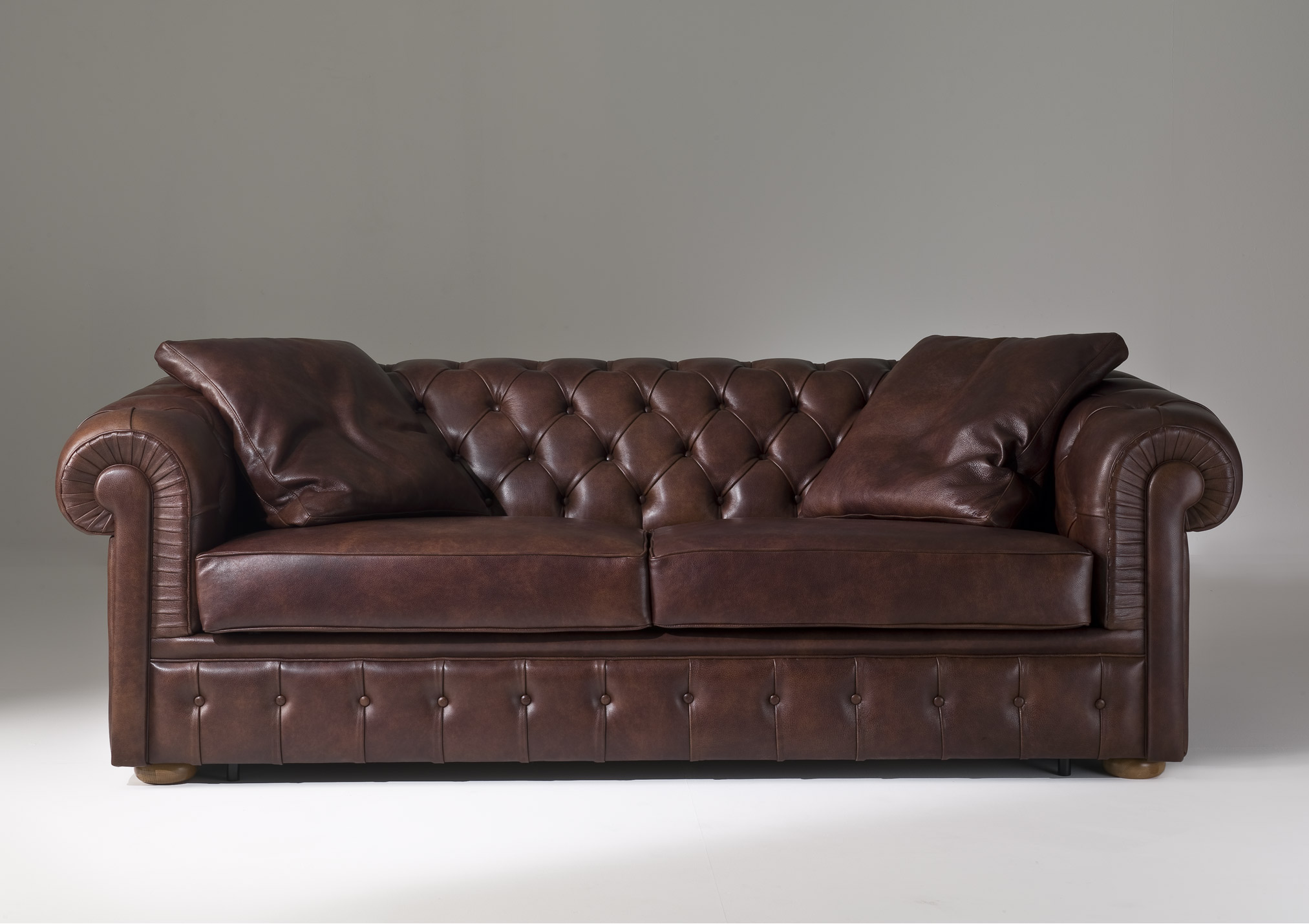 chesterfield sofa polster couch 3 sitzer schlafsofa bettfunktion leder sofas ebay