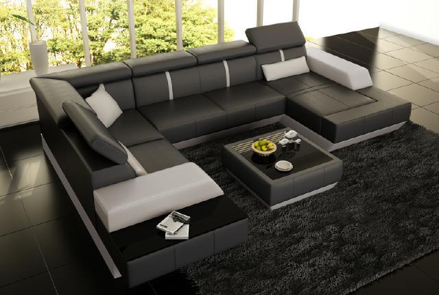 Couchtisch und clubtisch tisch le mans design ledertisch for Couchtisch und esstisch passend