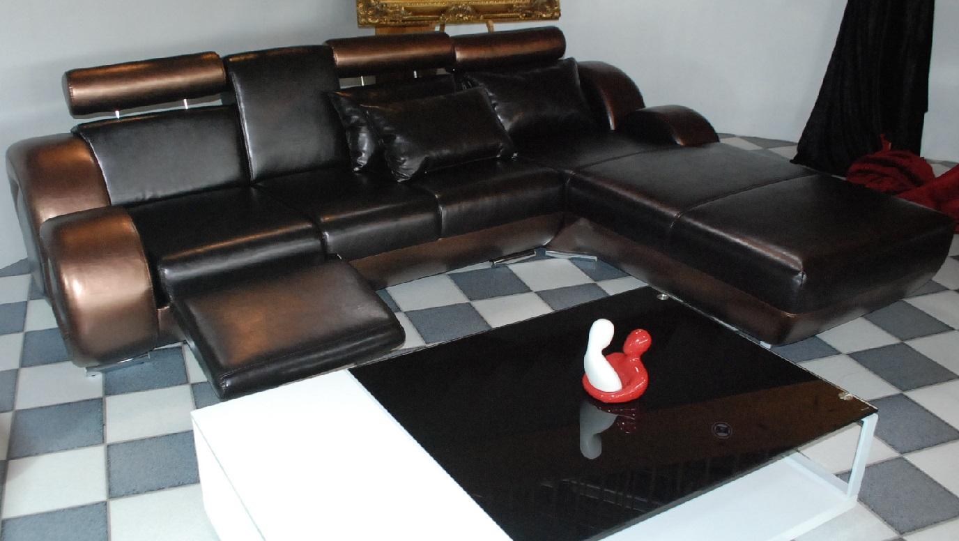 couch ecksofa leder. Black Bedroom Furniture Sets. Home Design Ideas