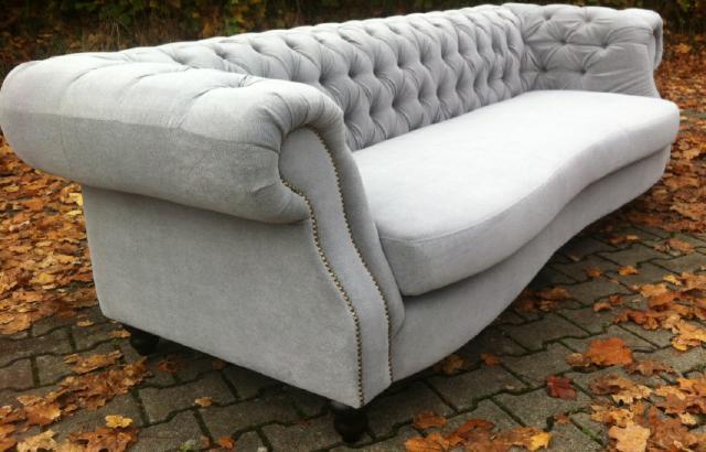 big sofa chesterfield xxl 250cm 4sitzer couch sofa textil samt stoffsofa polster ebay. Black Bedroom Furniture Sets. Home Design Ideas