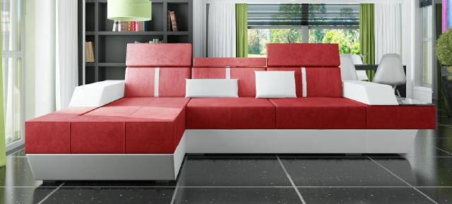 sofas und ledersofas le mans i bettfunktion designersofa ecksofa jv m bel. Black Bedroom Furniture Sets. Home Design Ideas