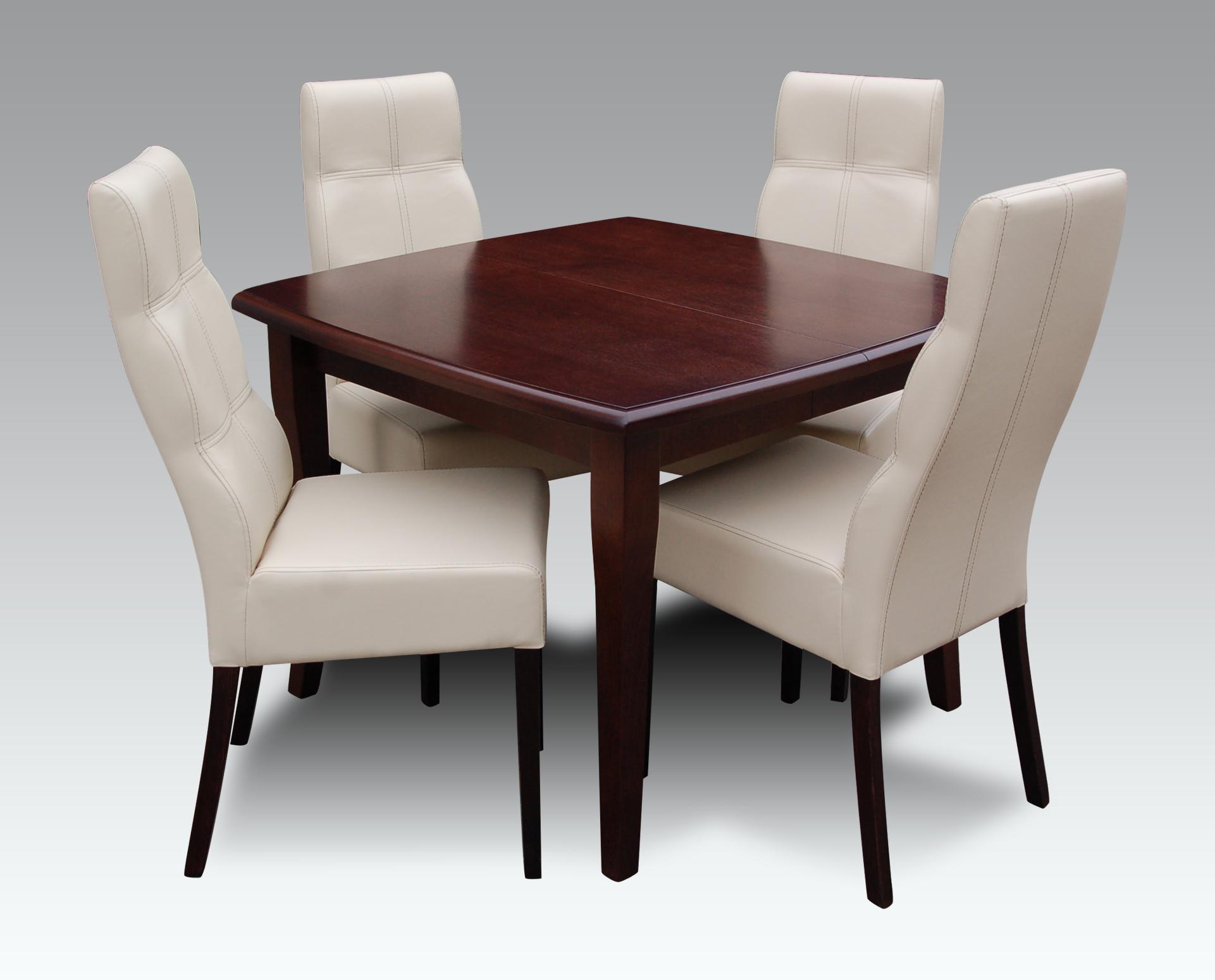 4 Stühle Set Garnituren Komplett Wohnzimmer Esszimmer Ausziehbar 250cm Tisch- & Stuhl-sets Tisch