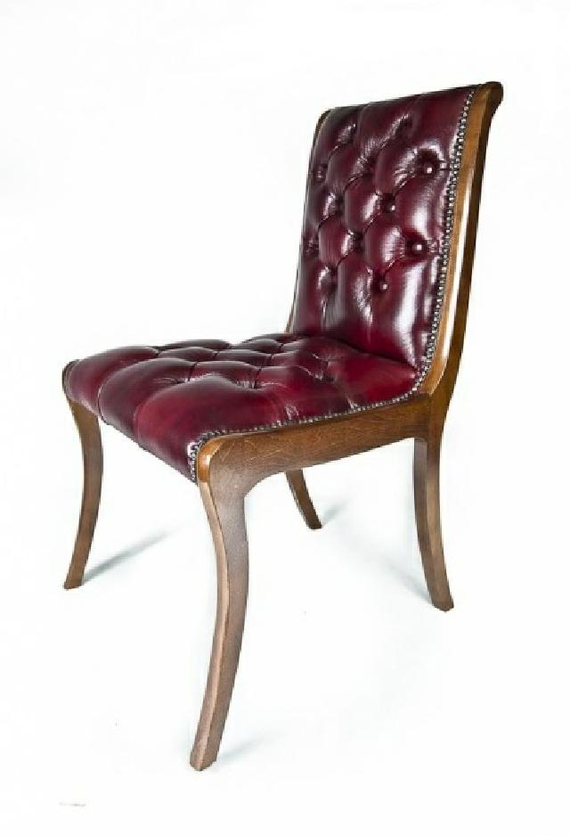 chesterfield stuhl antik sessel echtholz leder textil st hle echtes holz neu ebay. Black Bedroom Furniture Sets. Home Design Ideas