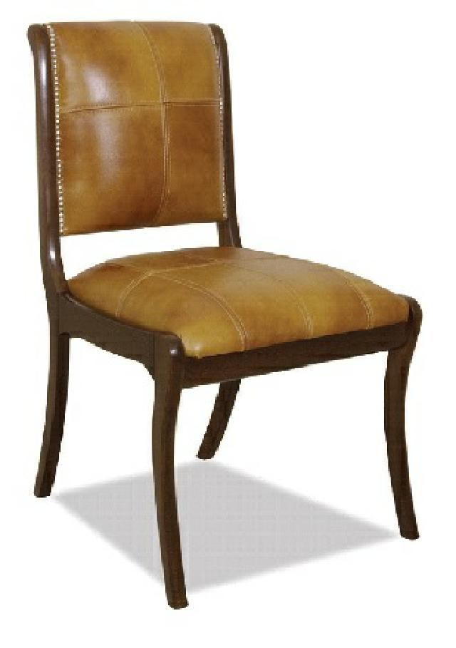 Chesterfield Stuhl Lehnstuhl Stuhle Polster Sitz Antik Leder