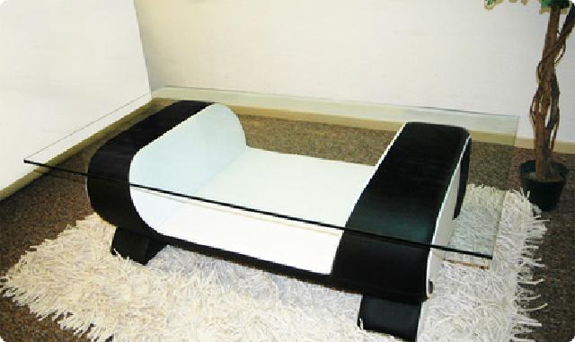 couchtisch und clubtisch tisch vigo design ledertisch. Black Bedroom Furniture Sets. Home Design Ideas