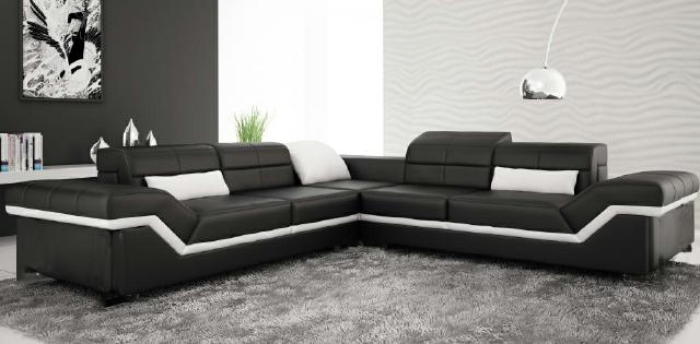 ledersofa xxl wohnlandschaft couch design sofa ecksofa new york sofort lieferbar www. Black Bedroom Furniture Sets. Home Design Ideas
